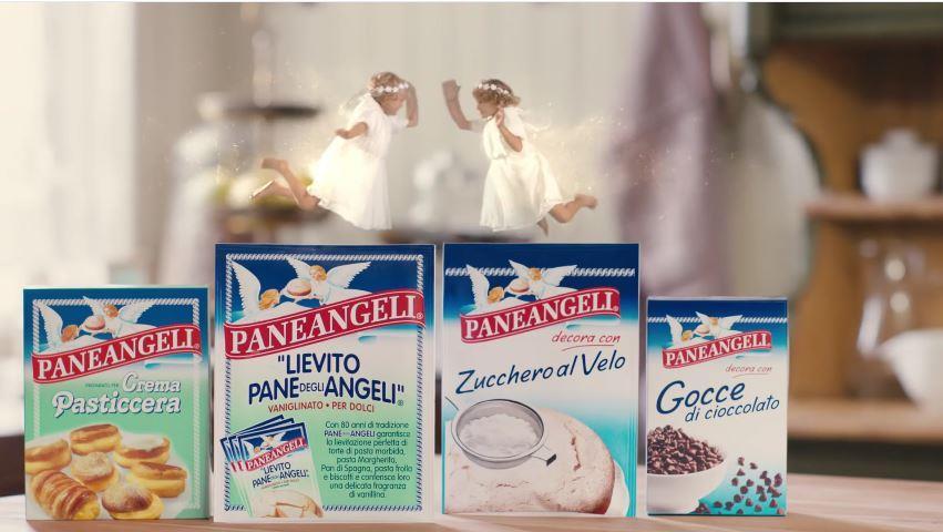 Canzone Paneangeli pubblicità Lievito pane degli angeli con bambini che preparano torte - Musica spot Novembre 2016