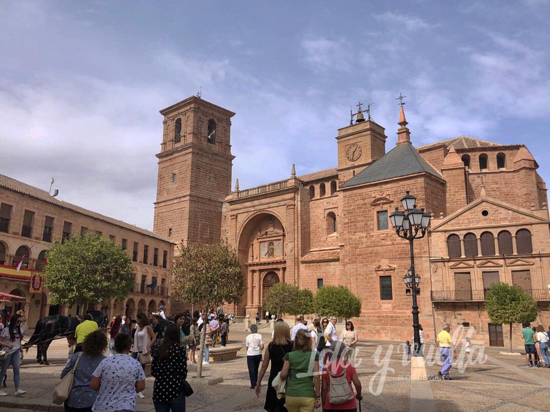 Visitar Villanueva de los Infantes Plaza Mayor