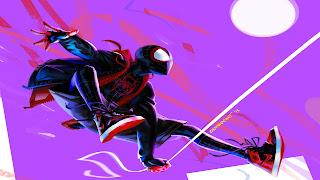 Spider-Man Into The Spider Verse PS Vita Background