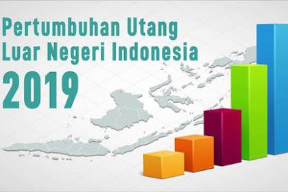Per Juli 2019 Utang Luar Negeri RI Naik 7% Jadi Rp 5.444 T