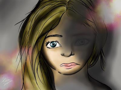 """En bild ur min berättelse """"Mina sinnen ljuger inte"""". http://minasinnenljugerinte.wordpress.com"""