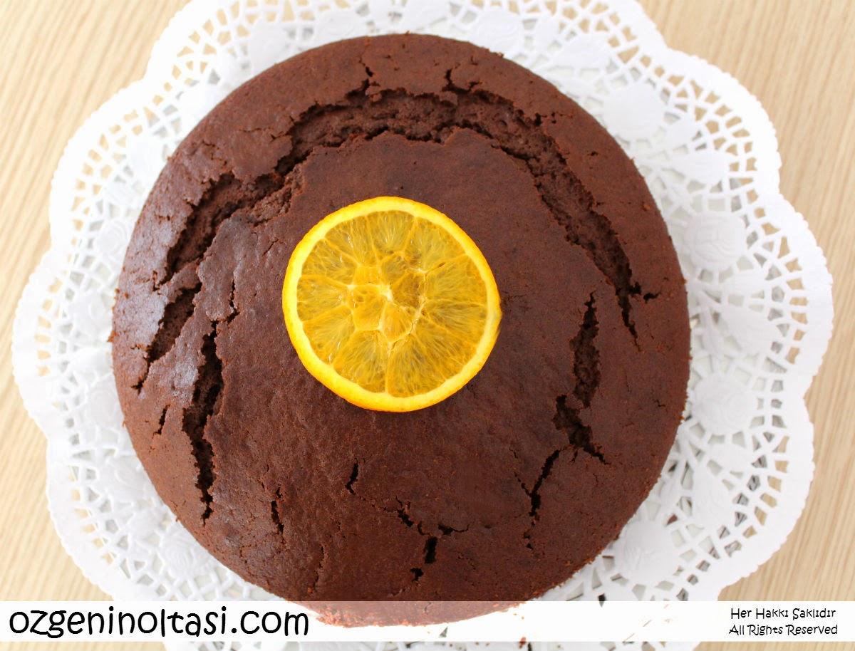 Portakallı Çikolatalı Tart Tarifi
