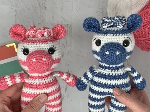 Free Crochet Zebra Pattern