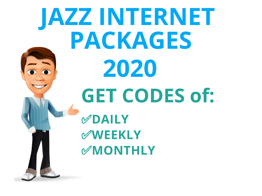 One Day Internet Package Jazz Weekly Internet pkg Monthly Data Package Warid Monthly Net Package. Social Bundle Weekly Facebook imo pkg Weekly Whatsapp net Code