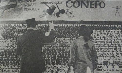 Ketika Indonesia Mendirikan CONEFO dan GANEFO Untuk Menandingi PBB dan Olimpiade