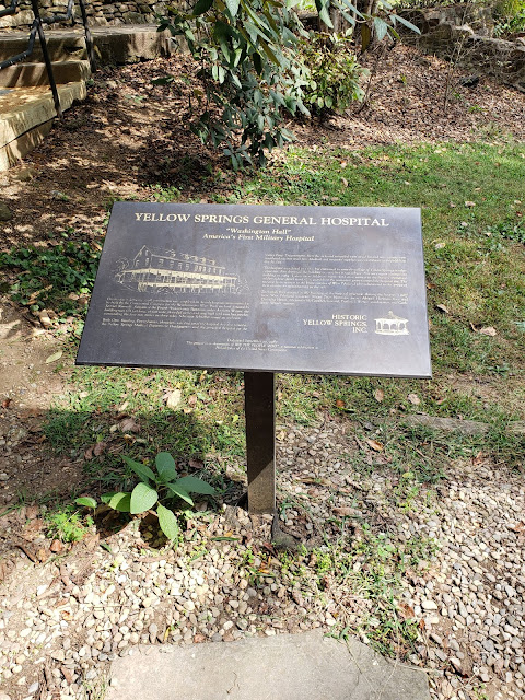The yellow springs general hospital information sign