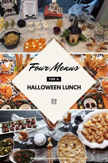 Halloween Party Dinner Ideas Full Menus FREE Easy Healthy for Kids