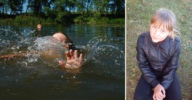 12-летняя девочка бросилась в реку и спасла двоих детей. Но из реки девочка выбиралась уже с переломом руки…