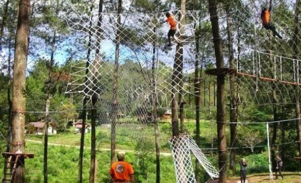 Bandung Treetop Adventure Lembang