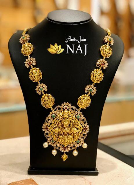 Kasu Necklaces by Naj Jewellery