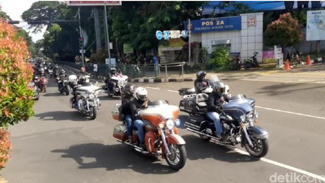 Rombongan Moge Lolos Ganjil Genap Kota Bogor, Polisi: Kita Selidiki