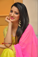Actress Richa Panai Latest Pos in Yellow Anarkal Dress at Rakshaka Bhatudu Telugu Movie Audio Launch Event  0011.JPG