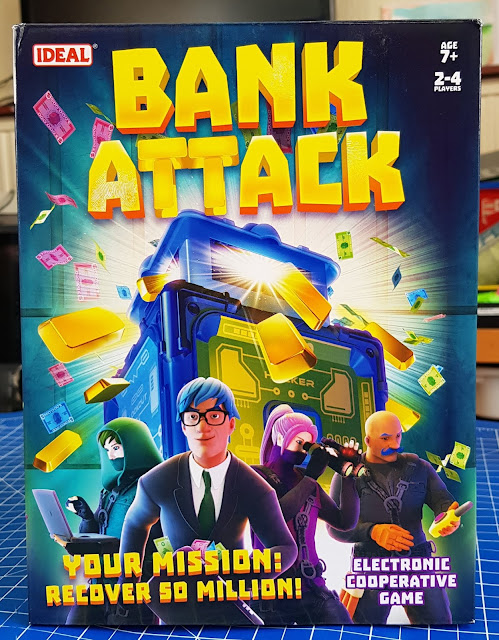 Bank Attack Family Game box (Age 7+) Sent by John Adams Toys