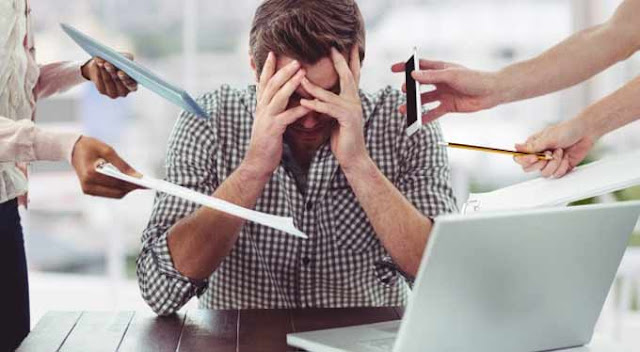 6 Cara Mudah Mengatasi Stress Dan Bosan Akibat Pekerjaan