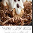 Food And Cake Recipes: Nutter Butter Boos