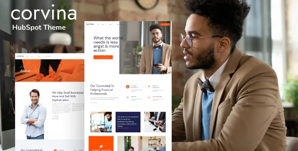 Best Business Consulting HubSpot Theme