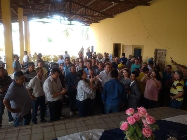 Audiência pública sobre água acontece em Senador Sá e reuni comunidade e autoridades. Confira!