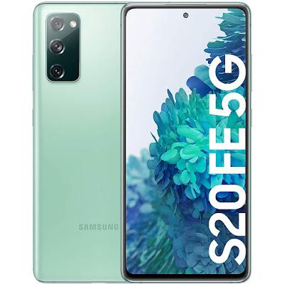 Samsung Galaxy S20 FE 5G verde