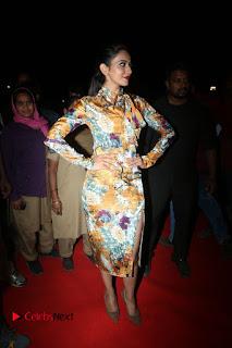 Actress Rakul Preet Singh Stills in Short Dress at Dhruva Pre Release Function  0017.JPG