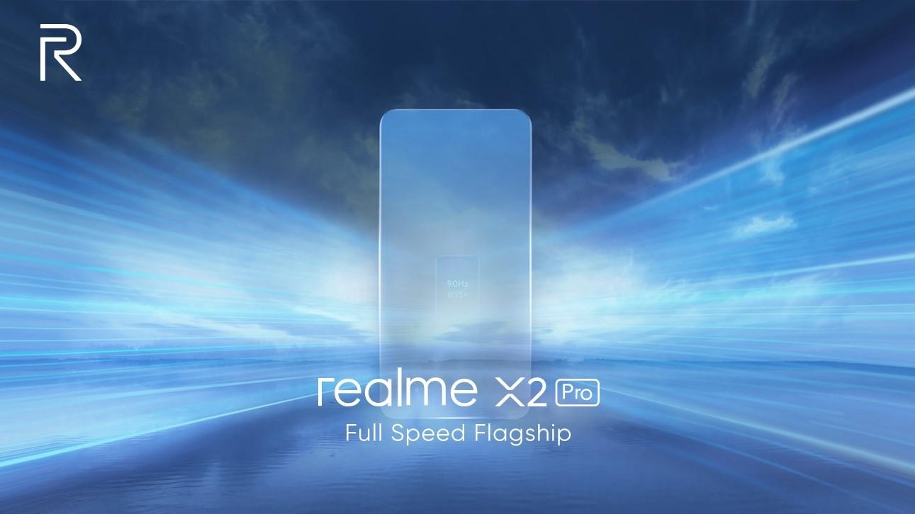 Realme X2 Pro قادم قريبًا مع المعالج +SD855، وكاميرا أساسية بدقة 64MP