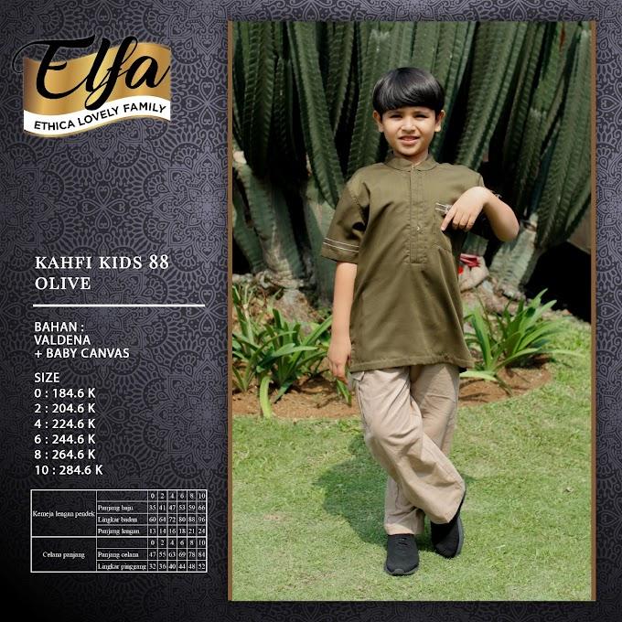 Kahfi Kids 88 Olive