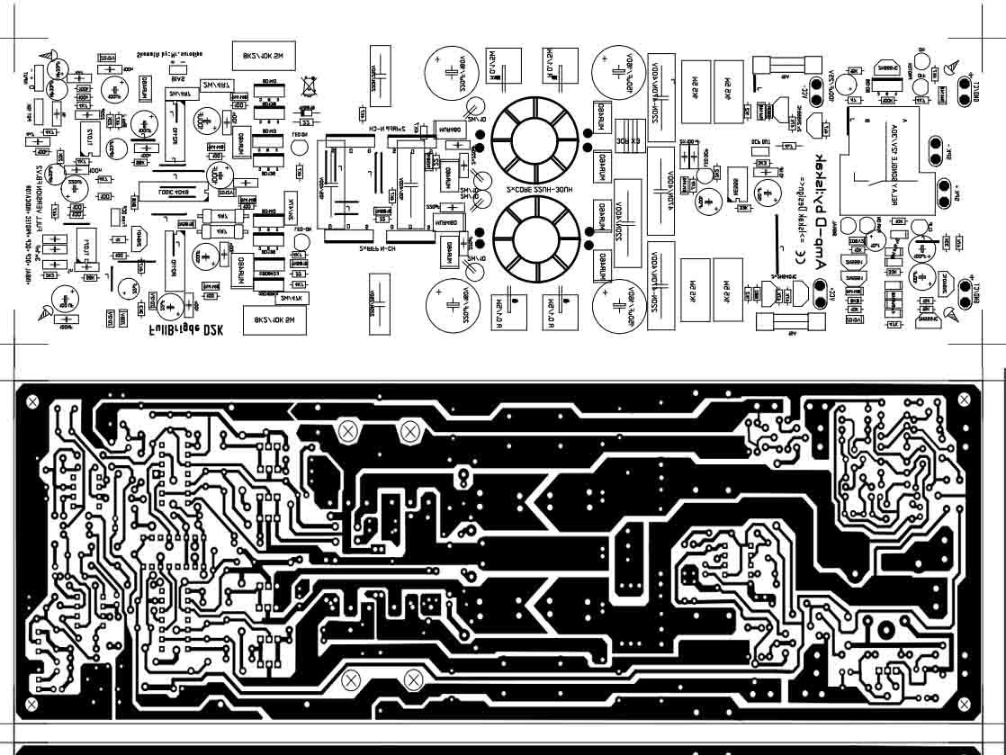 2000 Watts Power Amplifier Schematic Diagram Club Car Precedent Headlight Wiring Class D Fullbridge D2k 2000watts