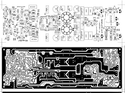 PCB Power Amplifier D2K