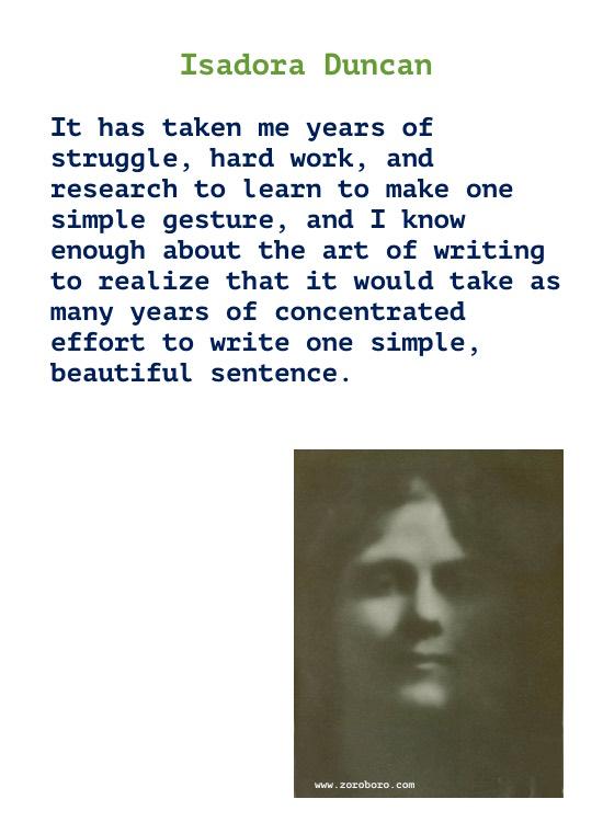 Isadora Duncan Quotes, Isadora Duncan Art Quotes, Dance Quotes, Dancing Quotes, Earth, Music Quotes, & Life Quotes. Isadora Duncan Writings