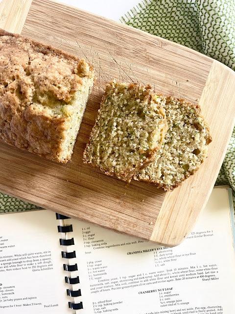 church cookbook zucchini bread #zucchinibread #sweetsavoryeats