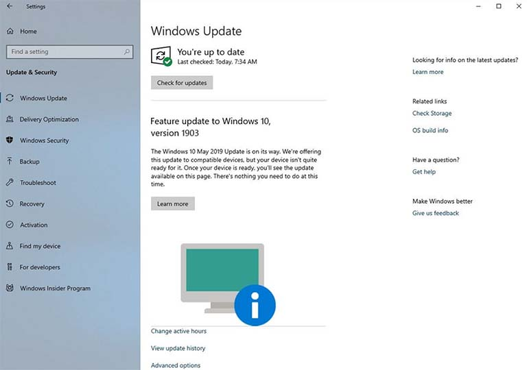 Kini Windows 10 Memberitahu Perangkat Yang Tidak Siap Untuk May 2019 Update