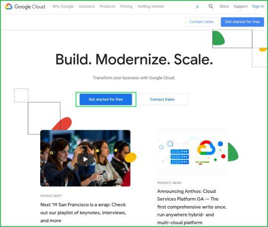 Google-cloud-account