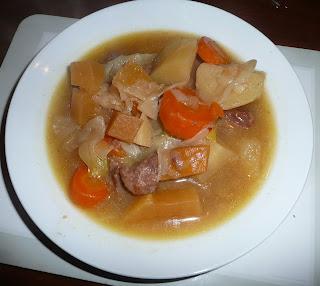 Cawl welsh lamb and leek stew