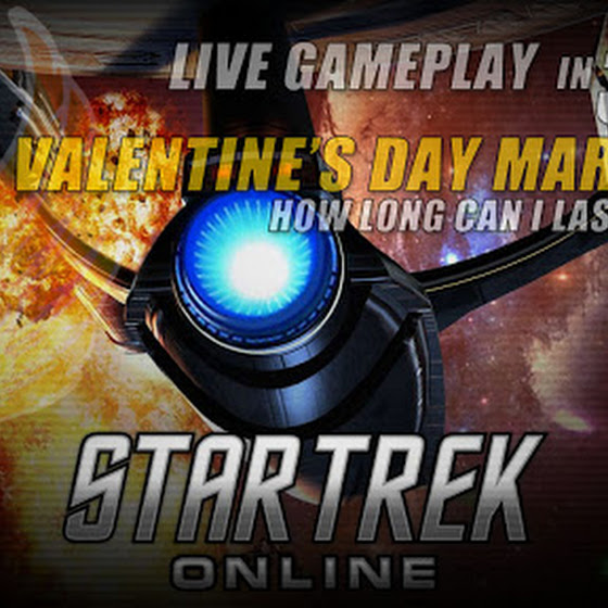 Star Trek Online ★ 11 Hours Valentines Day Marathon (Gameplay Only)