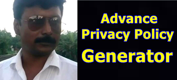 Advance Privacy Policy Generator