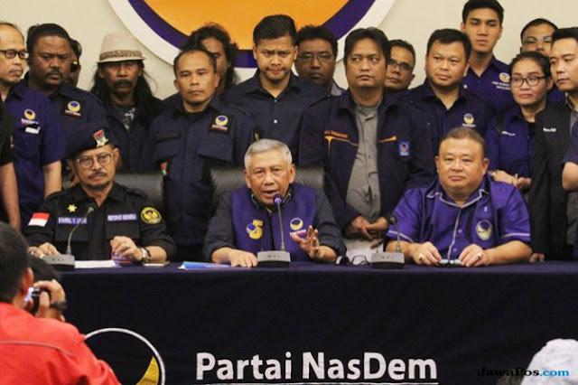 Nasdem: Koalisi Prabowo-Sandi Compang-camping