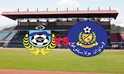 Live Streaming Sabah vs Pahang Piala Malaysia 16.9.2018