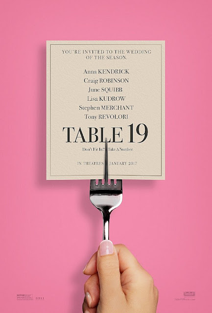 Table 19 (2017) Movie Sinopsis - Anna Kendrick, Lisa Kudrow