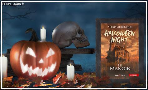 PurpleRain Livre : Halloween Night - Alexis Aubenque