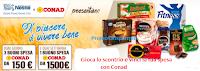 Logo Concorso Nestlè: vinci buoni spesa da 150 e 1.500 euro