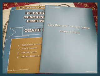 Easy Grammar Ultimate Series:  Grade 11  set