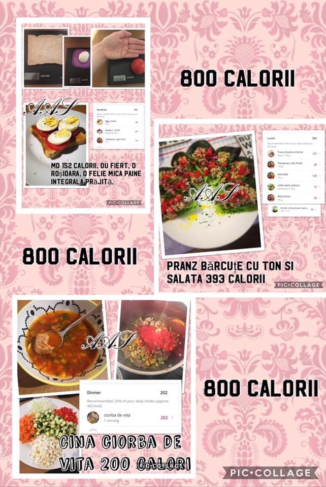meniuri slab calorice