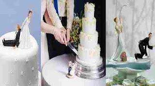 Superstiții tort de nuntă