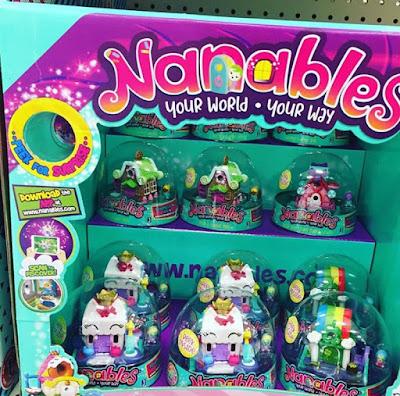 Мини домики для кукол Nanables новинка 2019 для девочек