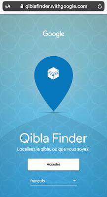 Google Qibla Finder