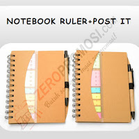 Notebook Ruler + Post It (N-806)