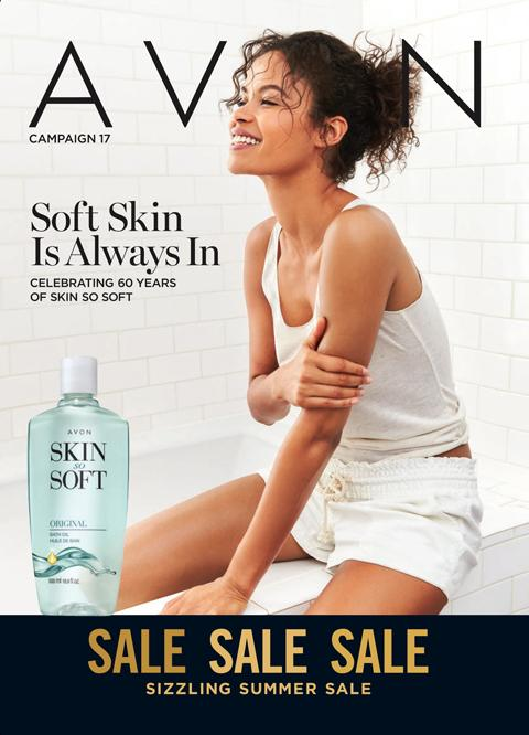 Avon Campaign 17 2021 Brochure Online - Soft Skin Is Always In!