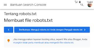 Setelan Robot.txt