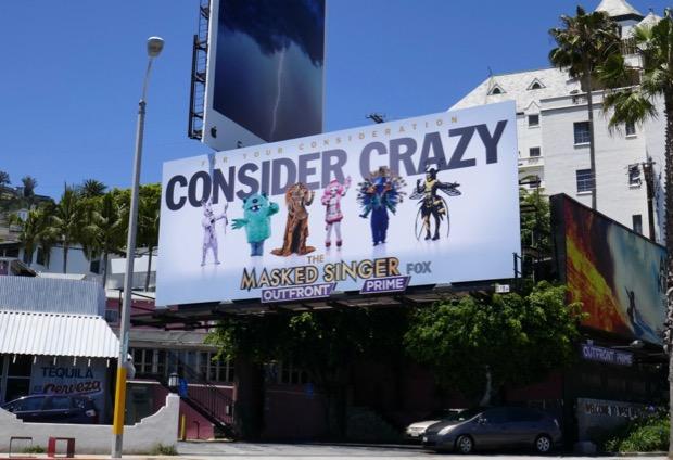 Masked Singer 2019 Emmy FYC billboard