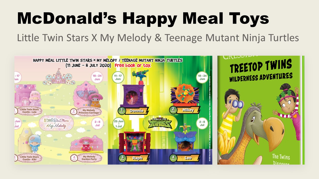 Mcdonald S Happy Meal Toys Little Twin Stars X My Melody