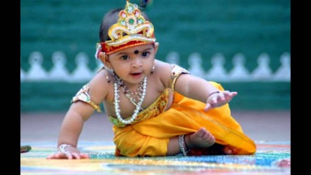 Little bal krishna picture